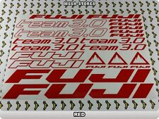 FUJI TEAM 3.0 Stickers Decals Bicycles Bikes Cycles Frames Forks Mountain 61FE