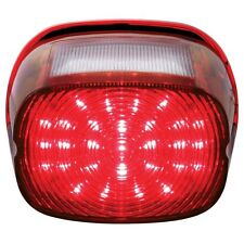 Harley Motorcycle 29 LED Red Stop Brake Tail Light / 4 LED White License Light