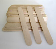 100 SALON WAXING HAIR REMOVAL WOODEN SPATULAS WAX APPLICATOR FOR EYEBROW, BIKINI