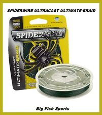 SPIDERWIRE ULTRACAST ULTIMATE-BRAID Fishing Line 30LB-125YD #SCUC30G-125 NEW!