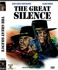Sergio Corbucci - The Great Silence - Klaus Kinski (NEW) Spaghetti Western  DVD
