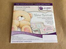 Docrafts Forever Friends New Arrival Digital Designer CD RRP £9.95 Bargain