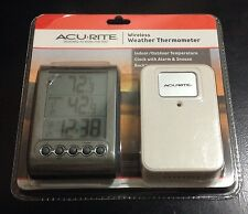 NEW AcuRite Digital Wireless Weather Thermometer Indoor/Outdoor, 00604