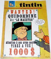 Le journal de TINTIN n° 995 de 1967 Quidordine magazine vintage revue collection
