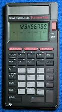 Texas Instruments  Business Edge Calculator with Cover - Solar Touch Screen