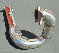 "STAINLESS RACING DOWNPIPE HONDA CIVIC/CRX/DEL SOL/ INTEGRA B/D 3"" TURBOCHARGER"