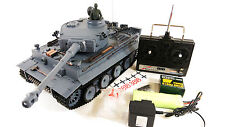 German Tiger 1 Remote Control RC Military Army World War Tank Smoke Sound Model