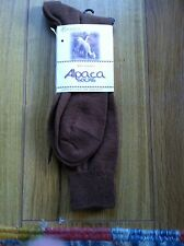 Alpaca Socks (Over the Calf) size 10 & Up One size fits Most.