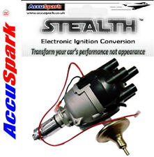 MGC replacement AccuSpark electronic Distributor for Lucas 25D6 + Red Rotor Arm