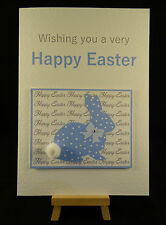 Personalised & Handmade Happy Easter Card - Son,Nephew,Grandson,Godson,Brother