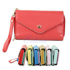 Multifunctional Envelope Purse Wallet Phone Case for iPhone 4s 5 Galaxy S2 S3