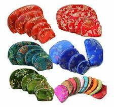 Wholesale8set/40pcs Chinese Handmade Classic Silk Handbag Wallet Purse Gift Bag
