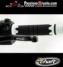 Manopole Lightech Chaft Space white Kawasaki Z750 Z800 Z1000 sx Er-6n Er-6f