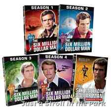 The Six Million Dollar Man: Complete TV Series Season 1 2 3 4 5 DVD Box Sets NEW