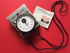 Rare Vintage Swiss TAG Heuer Clubmate 1/5 Stopwatch