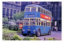 gw0152 - Bradford Trolleybus no 767 at City Centre in 1961 - photograph