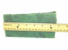 Wyoming Jade Block Bright Green Nephrite 4 LB Lapidary Carving Gem Stone WY