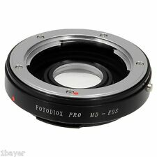 Fotodiox Lens Mount Adapter Minolta MD MC Rokkor to Canon EOS DSLR Camera