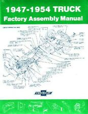 1947 1948 1953 1954 Chevrolet Truck Assembly Manual Rebuild Instructions Details