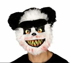 Adult KILLER CRITTER Zombie PANDA EVIL HORROR Halloween Fancy Dress Mask