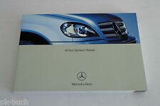 Betriebsanleitung Owner´s Manual Mercedes Benz M-Klasse W163 ML 350 / 500, 2004
