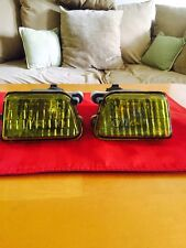 VW MK2 Rare HELLA Yellow French Fog Lights Set - Used