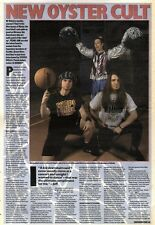 14/3/92Pgn40/48 Article & Picture new Oyster Cult New Boys On The Scene Pearl Ja