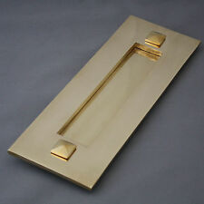 Traditional Victorian Style Brass Letter Plate