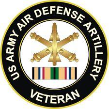 """Army Air Defense Artillery Gulf War / Desert Storm Veteran 5.5"""" Decal / Sticker"""