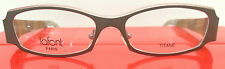 LAFONT BENGALE COL 275 GREY W/PINK METAL EYEGLASSES FRAME STORE DISPLAY