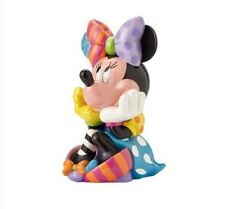 Disney By Romero Britto Limited Edition Minnie Mouse Sitting Statue Figurine