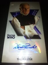 TOPPS Dr Who Tenth Doctor Adventures Autograph Auto Card Derek Jacobi As Master