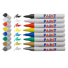 8 (Pcs) Colors Waterproof Permanent Paint Marker Pen Car Tyre Tire Rubber Metal