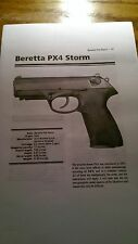 Beretta PX4 Storm dissembly and reassembly tips by AGS.