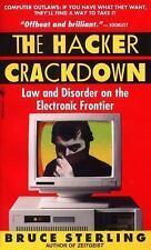 The Hacker Crackdown by Bruce Sterling - PB, 1993