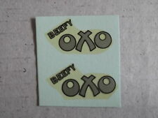 "Dinky 453 ""Oxo"" Trojan Van Decals/Transfers#2"