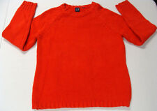 GAP sweater SMALL womens Red Crewneck Sweater Knit