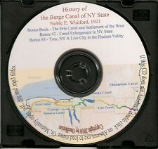 History of the Barge Canal of New York - + Bonus Book