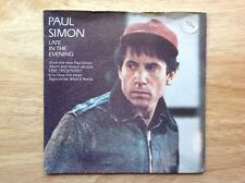 PAUL SIMON 1980 vinyl 45rpm single LATE IN THE EVENING