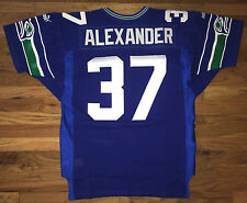 Shaun Alexander Vtg 2000 Rookie AUTHENTIC Seattle Seahawks PUMA Jersey SEWN 50