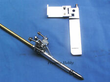 95mm rudder, stinger & 4mm flex cable shaft set for small rc boats