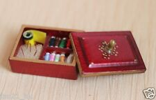 Accessories Dollhouse Miniature Sewing clothes sundry box ❤ re-ment Size #605