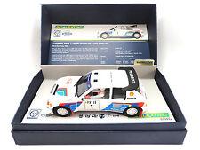 Scalextric Legends Peugeot 205 T16 1/32 Slot Car 1 of 2500 DPR W/ Lights C3591A
