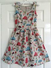 CATH KIDSTON RARE MUSHROOM SLEEVELESS JACQUARD DRESS - 10 - EXCELLENT CONDITION!