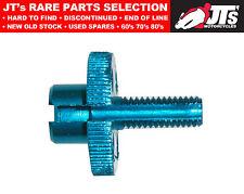 Cable de ajuste para manillar abrazadera de la palanca-Alloy Azul 8 Mm Rosca 814972