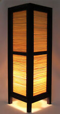 *ASIAN ORIENTAL HOME ROOM TABLE LAMP FLOOR LIGHT - **BAMBOO BLIND DECOR LAMP**