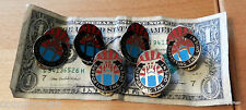 Vanguard  Supporting The Orient Pin  GET ALL 6 Vintage PINS Fast Ship