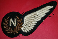 ROYAL CANADIAN AIR FORCE RCAF WWII MODIFIED TEMPORARY NAVIGATOR BREVET WING 1942