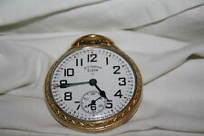 Beautiful Elgin B. W. Raymond Pocket Watch Original Must See Rail Road Model 571