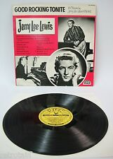 Jerry Lee Lewis - Good Rocking Tonite | Sun 1979 | VG+ / VG+ | Cleaned Vinyl LP